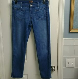 "Mother The ""Patchie"" Jeans"
